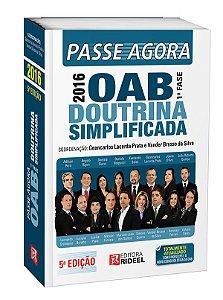 Passe Agora na OAB 1ª fase – Doutrina Simplificada - 5ª edição