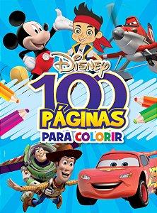 100 Páginas para Colorir Disney - MENINOS