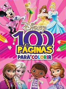 100 Páginas para Colorir Disney - MENINAS