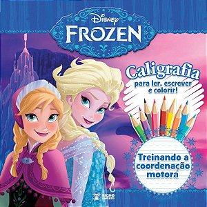 Caligrafia Frozen - TREINANDO A COORDENAÇÃO MOTORA