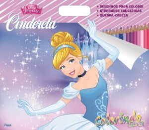 Super Colorindo Disney - CINDERELA