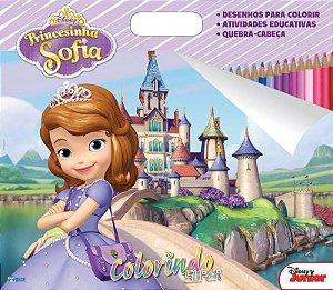Super Colorindo Disney - PRINCESINHA SOFIA