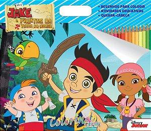 Super Colorindo Disney - JAKE E OS PIRATAS