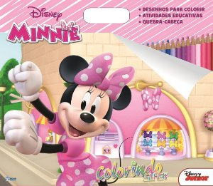 Super Colorindo Disney - MINNIE