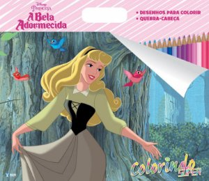 Super Colorindo Disney - A BELA ADORMECIDA