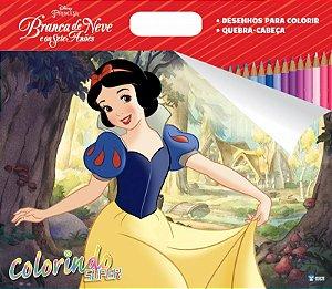 Super Colorindo Disney - BRANCA DE NEVE
