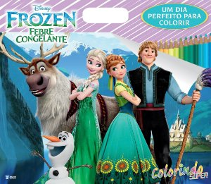 Super Colorindo Disney - FROZEN - FEBRE CONGELANTE