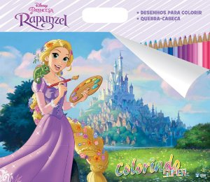 Super Colorindo Disney - RAPUNZEL