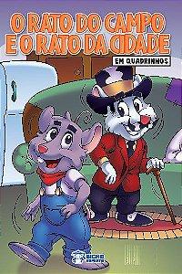 Em quadrinhos Fabulas - O RATO DO CAMPO, CIDADE COM 10 VOLUMES IGUAIS