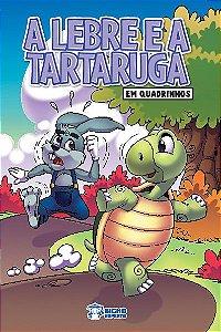 Em quadrinhos Fabulas - A LEBRE E A TARTARUGA COM 10 VOLUMES IGUAIS