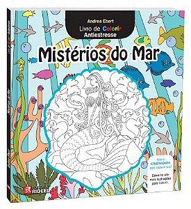 Livro de Colorir - MISTERIOS DO MAR