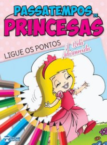 Passatempos Princesas - LIGUE OS PONTOS
