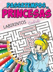 Passatempos Princesas - LABIRINTO