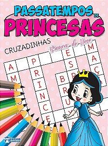 Passatempos Princesas - CRUZADINHAS
