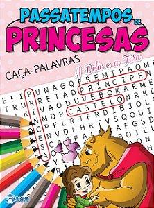 Passatempos Princesas - CACA-PALAVRAS