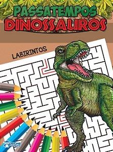 Passatempos Dinossauros - LABIRINTO