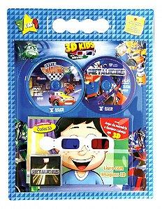 KIT 3D Kids para Meninos
