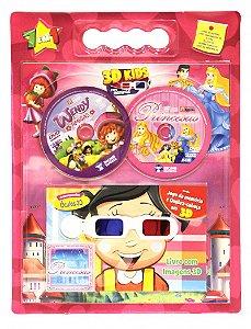 KIT 3D Kids para Meninas