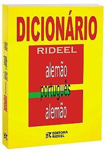 Dicionario Rideel ALEMAO, PORT, ALEMAO 14X21 2ED.