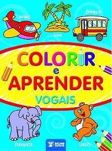 Colorir e Aprender  - VOGAIS
