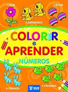 Colorir e Aprender  - NUMEROS
