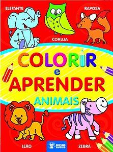Colorir e Aprender - ANIMAIS