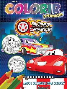 Colorir Animada - SUPER CARROS