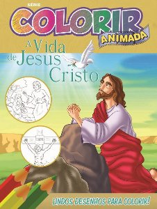 Colorir Animada - JESUS