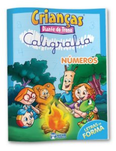 Caligrafia Numeros - DIANTE DO TRONO