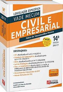 Vade Mecum Civil e Empresarial - 14ª edição
