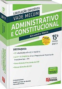 Vade Mecum Administrativo e Constitucional - 15ª edição