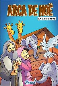 EM QUADRINHOS BIBLIA - A ARCA DE NOE C/10 VOLUMES IGUAIS