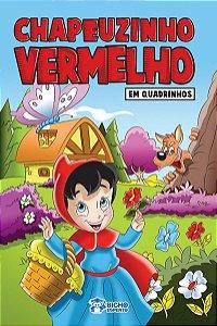 Em quadrinhos - CHAPEUZINHO VERMELHO - PACOTE COM 10 VOLUMES IGUAIS