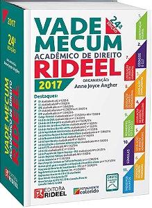 Vade Mecum Acadêmico de Direito Rideel - 24ª edição - 2017