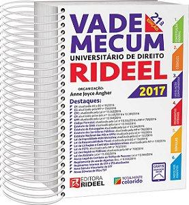 Vade Mecum Universitário de Direito Rideel - 21ª edição - 2017