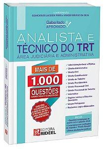 Gabaritado & Aprovado  Analista e Técnico do TRT –  Área Judiciária e Administrativa -1ª edição
