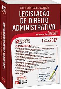 Legislação de Direito Administrativo - 12ª edição