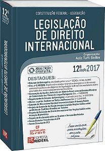 Legislação de Direito Internacional - 12ª edição