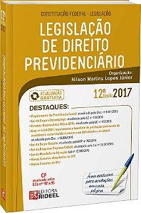 Legislação de Direito Previdenciário -12ª edição