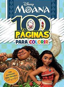 100 Páginas para colorir Disney - MOANA