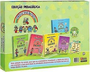 COLECAO PEDAGOGICA CIDADE DO LIVRO