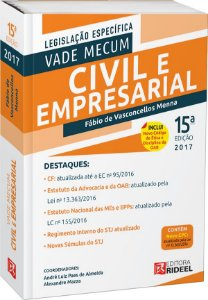 Vade Mecum Civil e Empresarial - 15ª edição