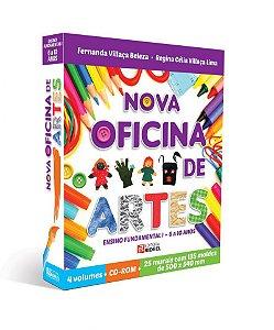 COLECAO OFICINA DE ARTES 4VOLS. NOVA - 1ED.