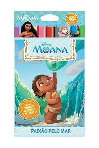 Disney Solapa Média Colorir - MOANA