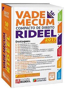 Vade Mecum Compacto de Direito Rideel - 14ª edição - 2017