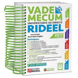 Vade Mecum Universitário de Direito Rideel - 22ª edição - 2017