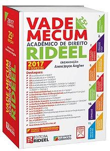 Vade Mecum Acadêmico de Direito Rideel - 25ª edição - 2017