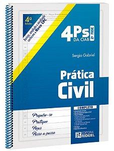 4 Ps da OAB - Prática Civil - 4ª edição