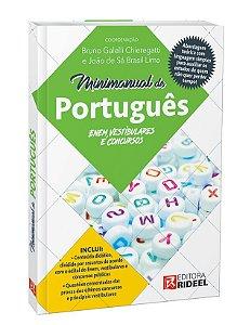 Minimanual de Português: Enem, vestibulares e concursos - 1ª edição