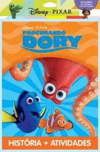 Disney Solapa Jumbo Histórias - PIXAR